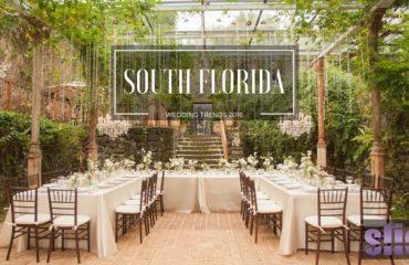 South Florida Wedding Trends 2016