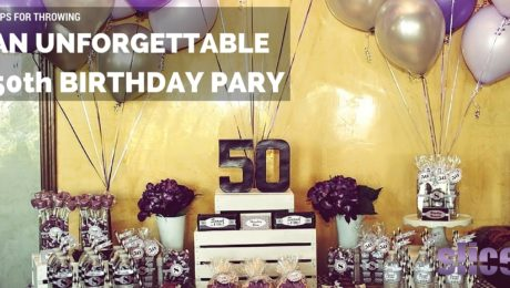 Throwing a 50th Birthday Party