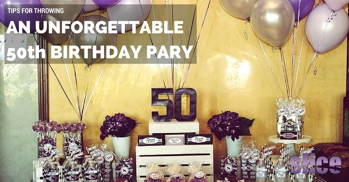 Do It Yourself Home Design: Tips For Throwing An Unforgettable 50Th Birthday Party
