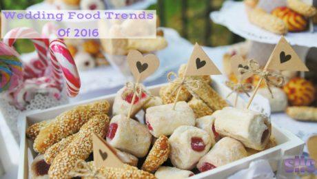 Wedding Food Trends of 2016