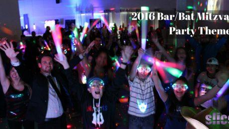 2016 Bar-Bat Mitzvah Party Themes