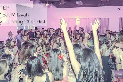 Mitzvah Party Planning Checklist