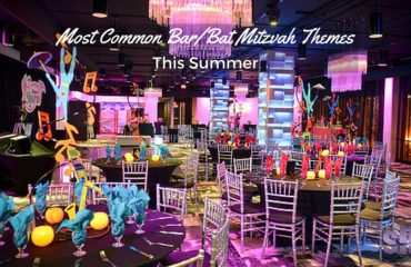 Most Common Bar:Bat Mitzvah Themes