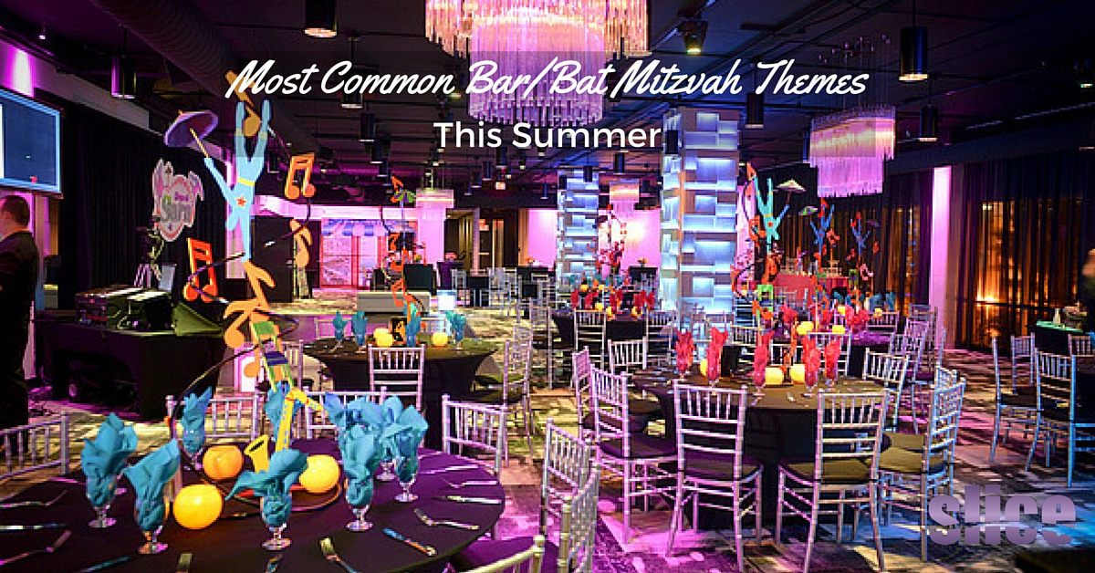 Most Common Bar Bat Mitzvah Themes This Summer