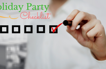 2016 Holiday Party Checklist