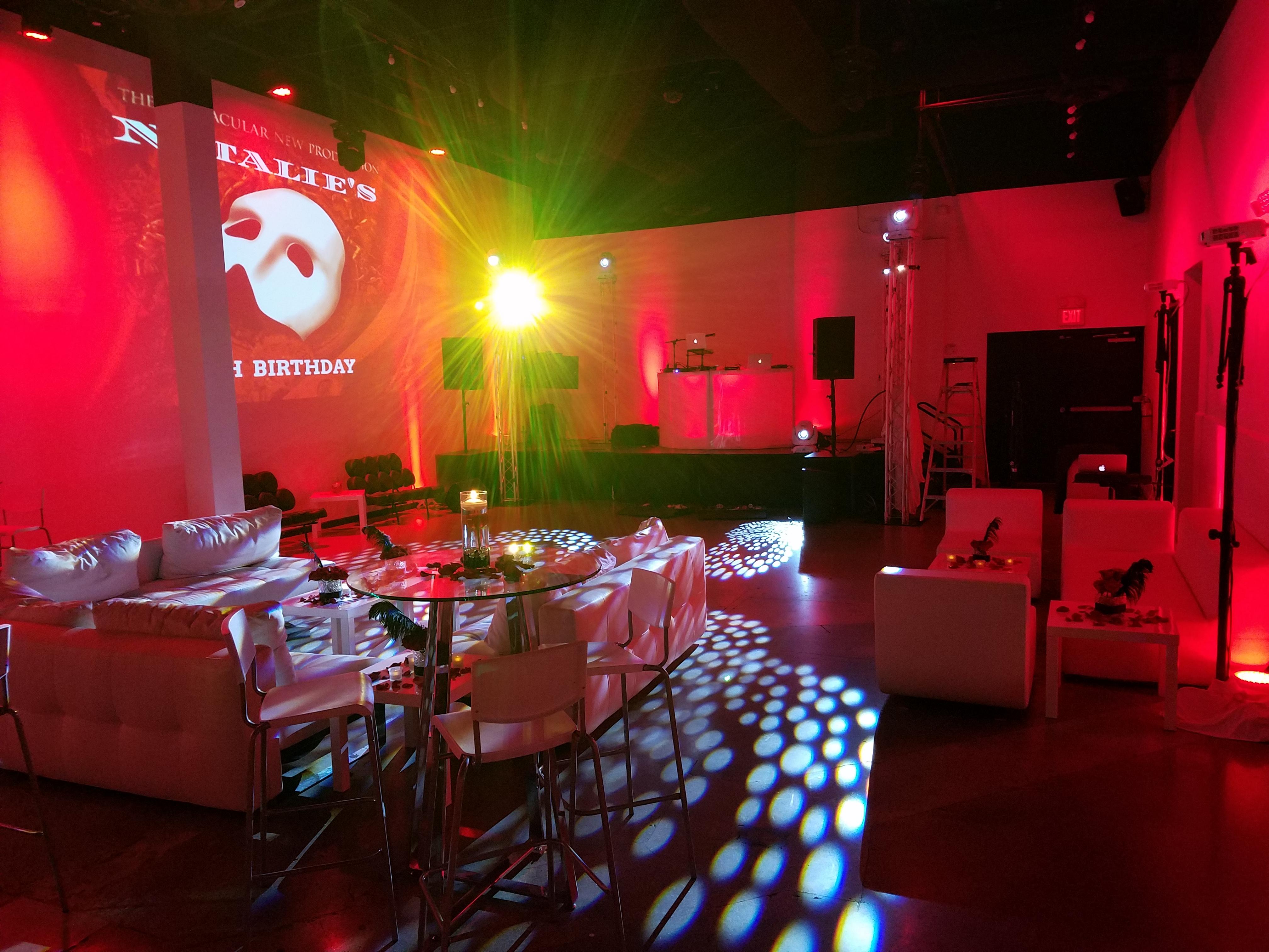 Weston Event Venue Interior